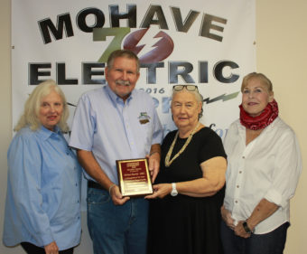 director Michael Bartelt with the Arizona ACRE Membership Recognition