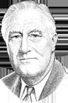 Franklin Roosevelt Illustration