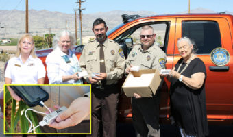 Board members with the Mohave County Sheriff's Office Search and Rescue unit