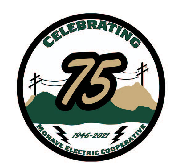 Celebrating 75 years Mohave logo
