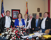 Mohave Electric Cooperative Directors and Chief Executive Officer met with Arizona Senator Kelli Ward