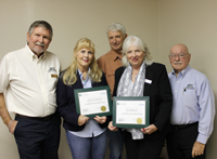 receiving accredited Credentialed Cooperative Director Certificates